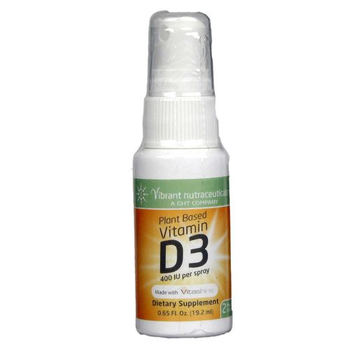 Plant Based Vitamin D3 400 IU Spray