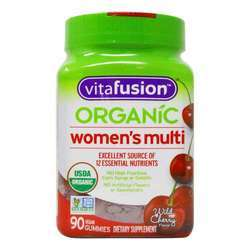 VitaFusion Organic Women's Multi