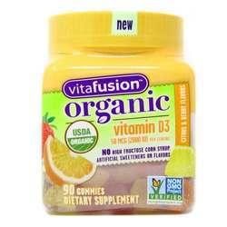 VitaFusion Organic Vitamin D3