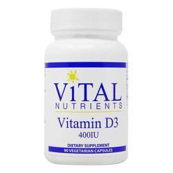 Vital Nutrients Vitamin D3 400 IU