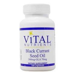 Vital Nutrients Black Currant Seed Oil
