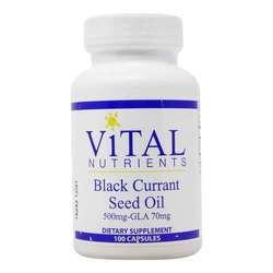 Vital Nutrients Black Currant Seed Oil