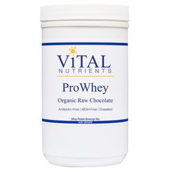 Vital Nutrients Pro Whey Organic Raw Protein Powder