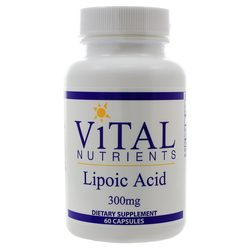 Vital Nutrients Lipoic Acid 300 mg