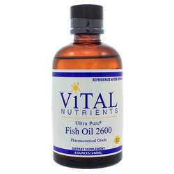 Vital Nutrients Ultra Pure Fish Oil 2600