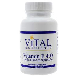 Vital Nutrients Vitamin E 400 IU Mixed