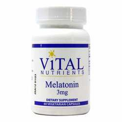 Vital Nutrients Melatonin 3 mg