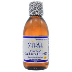 Vital Nutrients Cod Liver Oil 1025