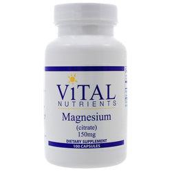 Vital Nutrients Magnesium Citrate 150 mg
