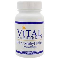 Vital Nutrients B12Folate 1000mcg800mcg
