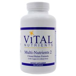 Vital Nutrients Multi-Nutrients II With Copper- Iron Free