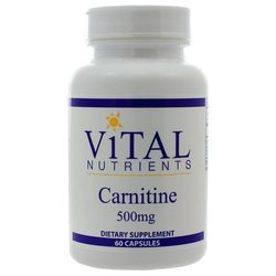 Vital Nutrients Carnitine 500 mg