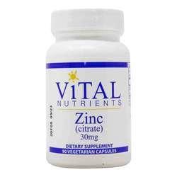 Vital Nutrients Zinc (Citrate) 30mg