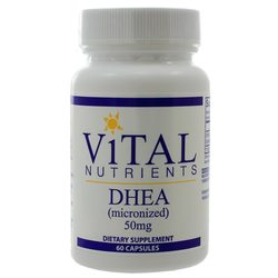 Vital Nutrients DHEA 50 mg