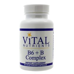 Vital Nutrients B6 + B-Complex