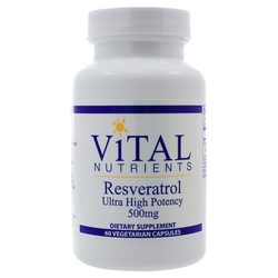 Vital Nutrients Resveratrol 500 mg
