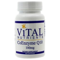 Vital Nutrients Coenzyme Q10 100 mg