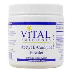 Vital Nutrients Acetyl L-Carnitine Powder