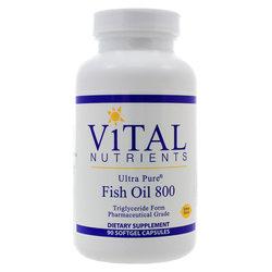 Vital Nutrients Ultra Pure Fish Oil 800