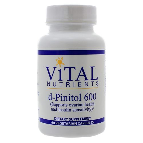 Vital Nutrients d-Pinitol 600 mg (PCOS)  - 60 VCapsules - 321731_a.jpg