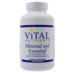 Vital Nutrients Minimal and Essential