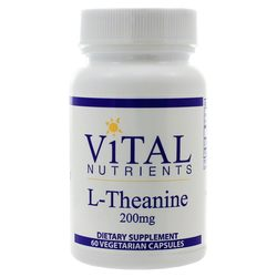 Vital Nutrients L-Theanine 200 mg