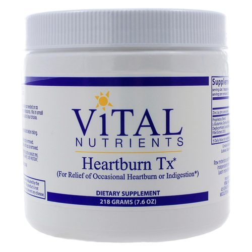 Vital Nutrients Heartburn TX Powder - 218 Grams - 321745_a.jpg