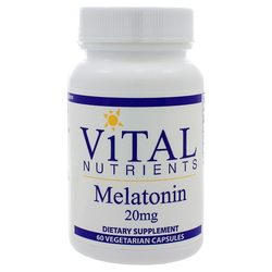 Vital Nutrients Melatonin 20 mg