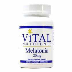 Vital Nutrients Melatonin 20 mg