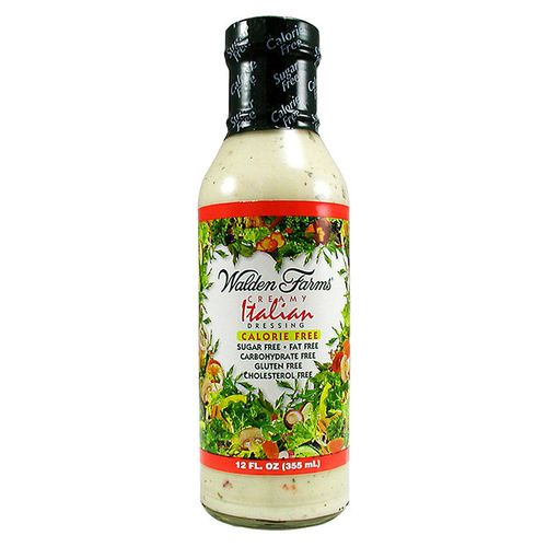 Walden Farms Dressing Italian - Creamy - 12 fl oz