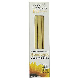 Wally's All Natural Beeswax Candle