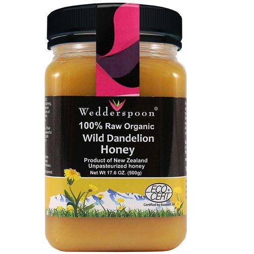 Wedderspoon Organic Certified Organic Dandelion Honey - 17 ...