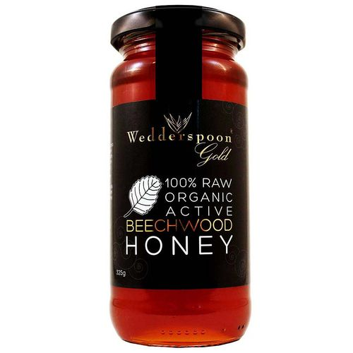 Gold Organic Raw Beechwood Honey