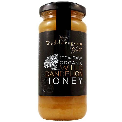 Gold Organic Raw Dandelion Honey