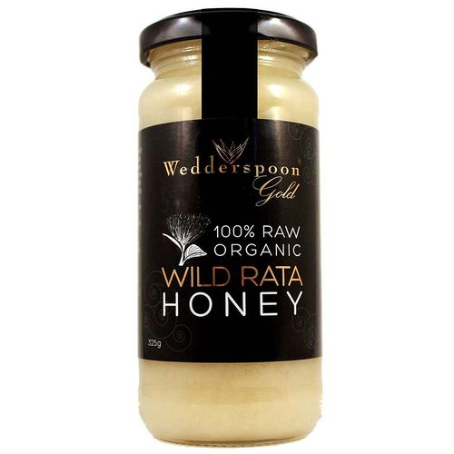 Golden Organic Raw Rata Honey