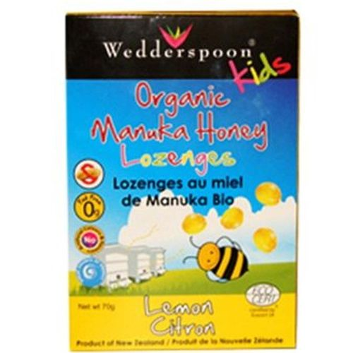 Organic Manuka Honey Kids Lozenges