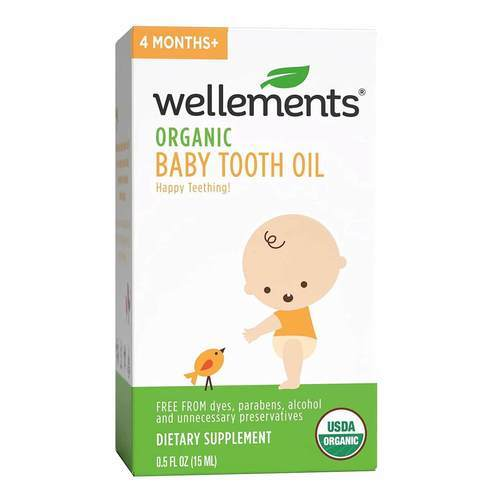 Wellements Baby Tooth Oil - .5 oz (15 ml) - 281729_front2020.jpg