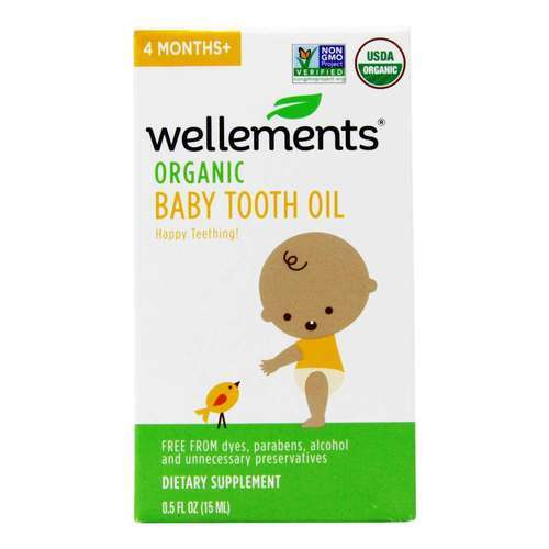 Wellements Baby Tooth Oil - .5 oz (15 ml) - 281729_front2020good.jpg