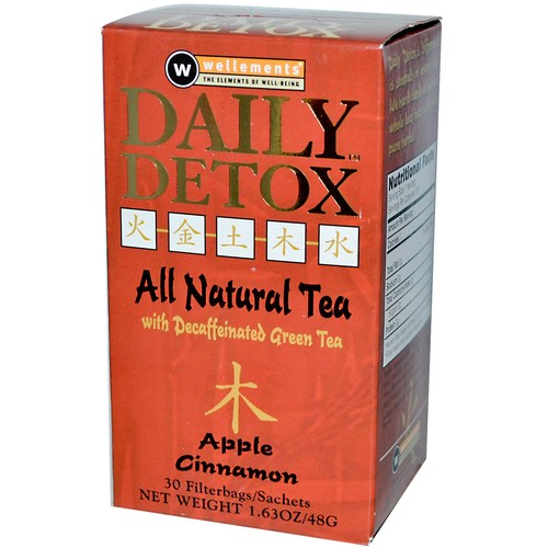 Wellements Daily Detox Tea Apple Cinnamon - 30 Bags - 3354_01.jpg