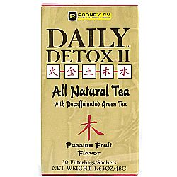Wellements Daily Detox II Herbal Passion Fruit Tea