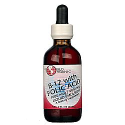 World Organic B12 with Folic Acid