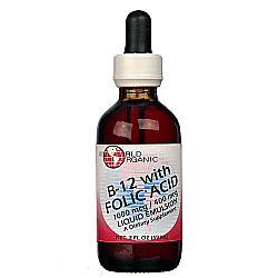 World Organic B12 with Folic Acid