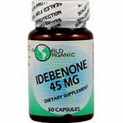 World Organic Idebenone 45 mg - 50 capsules