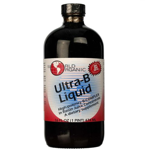 Ultra-B Liquid in Raisin Juice