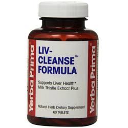 Yerba Prima Liv-Cleanse Formula 650 mg