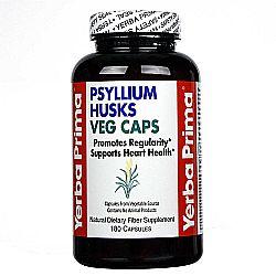 Yerba Prima Psyllium Husks Vegetarian Caps