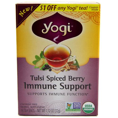 Tulsi Spiced Berry Immune Support Tea
