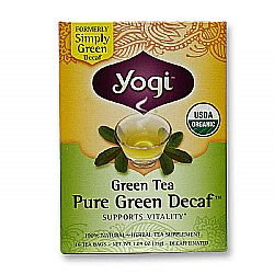 Yogi Tea Organic Teas Pure Green Decaf