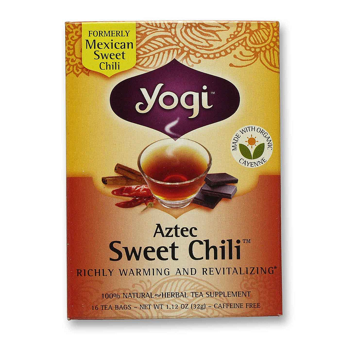 Yogi Tea Organic Teas Aztec Sweet Chili Tea 16 Bags