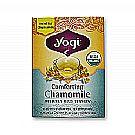 Yogi Tea Organic Teas Comforting Chamomile